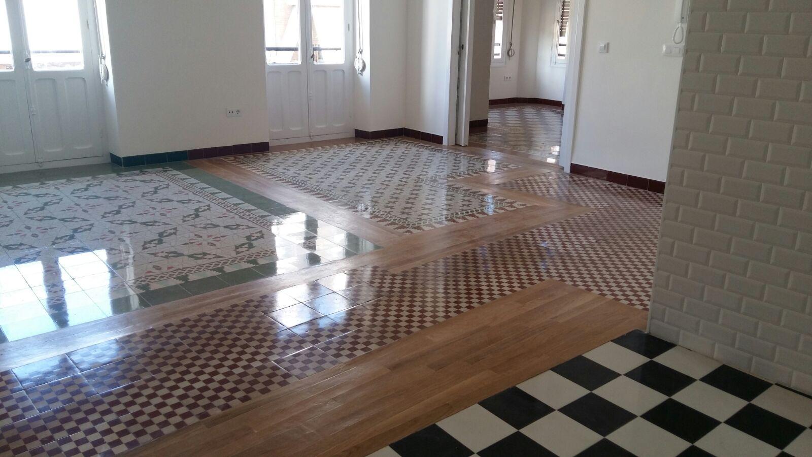 Suelos mosaico affordable un apartamento de suelos de mosaico nolla preciosos blog td with - Mosaicos para suelos ...